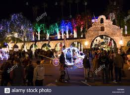 Mission In Lights Mission Inn Festival Of Lights 2018 Stock Photo 234704699