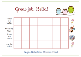 Reward Chart Template Toddler Free Printable Toddler Reward Chart For You Mommy
