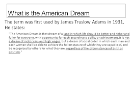dreams and of mice and men ppt video online what is the american dream