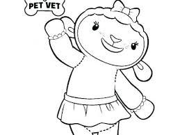 Free Printable Doc Mcstuffins Coloring Sheets Doc Coloring Picture