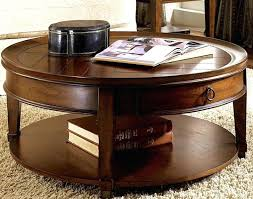 round coffee table with drawer round coffee table with storage coffee table with large storage drawers