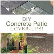 Cover concrete patio ideas Nepinetwork Do You Have Concrete Patio That Seems To Need Facelift Maybe That Old Cement Slab Has Few Too Many Cracks Or Just Needs New Look Home And Garden Diy Ideas To Update Your Worn Out Concrete Patio Home And Garden