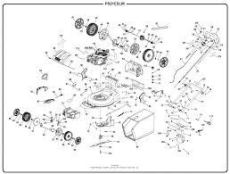 homelite ps21eslm electric start lawn mower mfg no 099923020 zoom