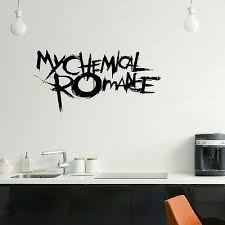 emo bedroom designs. large my chemical romance emo bedroom wall mural art sticker graphic matt vinyl designs i