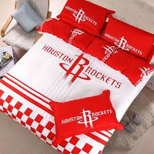 nba houston rockets bedding