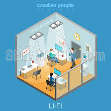 isometric office furniture vector collection. Interior Visualization Flat 3d Isometry Isometric Concept Web Vector Illustration. Office Room And Led Lights Data Transfer. Creative People Collection. Furniture Collection C