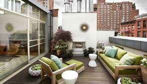 rooftop furniture. Contemporary Rooftop Garden New York Furniture