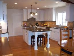 Small Space Kitchen Island Impressive Kitchen Island Ideas For Small White Wooden With Brown