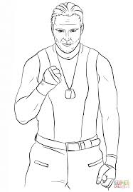 Small Picture WWE Dean Ambrose coloring page Free Printable Coloring Pages