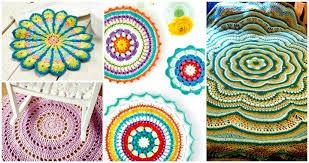 Free Crochet Mandala Pattern Amazing 48 Free Crochet Mandala Patterns DIY Crafts