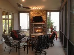 screened in porch with fireplace this screened porch with outdoor fireplace is designed for how