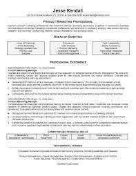 Product Marketing Manager Resume Free Resume Templates 2018