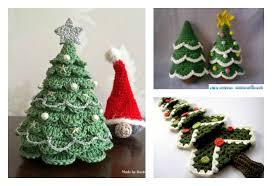Free Crochet Christmas Tree Patterns Inspiration DIY Crocheted Christmas Tree With Free Pattern