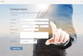 Personal Contact Template Contact Form Generator Free Responsive 123formbuilder