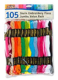 J P Coats Cotton Embroidery Floss Value Pack 1 Each Walmart Com