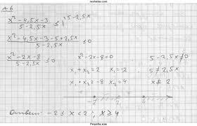 ГДЗ по алгебре для класса Мордкович А Г домашняя контрольная  ГДЗ Решебник по алгебре 9 класс Задачник Мордкович А Г