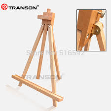 transon fine beech wooden tabletop easel for oil painting foldable mini wood easel tripod