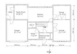 sample floor plan for a single family house house