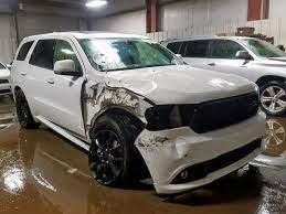Salvage 2017 Dodge Durango Rt 2017 Dodge Durango Dodge Durango Car Detailing