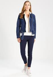 gap moto sherpa rustler wash denim jacket dark indigo womens clothing jackets denim jackets