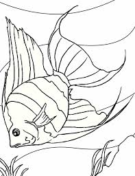 Small Picture Fish Coloring Page For Kids Animal Pages Printables Tropical