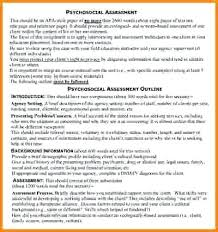 Psychosocial Assessment Template Stunning Magnificent Sample Assessment Images Resume Ideas Psychosocial Tool