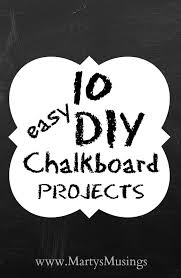 chalkboard paint ideas are a hot decorating trend in everything from home decor to parties and