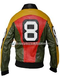 stylowears michael hoban 8 ball real leather jacket medium person with chest 39 black co uk clothing