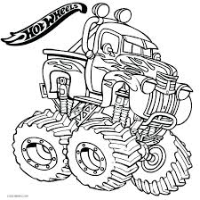 Small Picture Grave Digger Monster Truck Coloring Pages Printable vonsurroquen