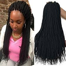 Braid Pattern For Crochet Senegalese Twist Delectable Amazon 448 Inch 48 Packs Senegalese Crochet Braids 48strands