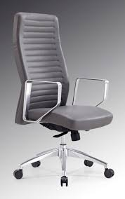 high office chairs. Contemporary Leather High Office Chair Black. Modrest Barra Modern Grey High-back Chairs F