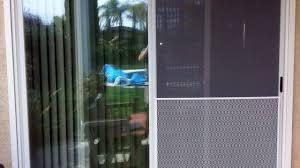 sliding screen door repair retractable wood doors kit perfect