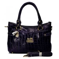 Coach In Embossed Medium Purple Satchels BIY