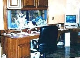 aquarium office. Desk Aquarium Office