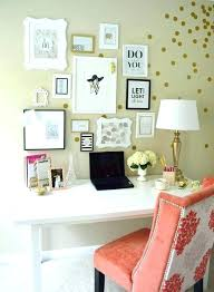 feminine office decor. Feminine Office Decor Pink And Gold Work .