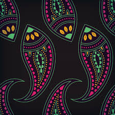 Graphic Design Paisley Traditional Paisley Design Vector Image 1895354