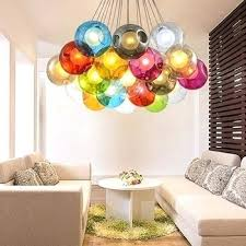 ball chandelier lights blown multi colored glass ball chandelier pendant light floating glass ball pendant chandelier