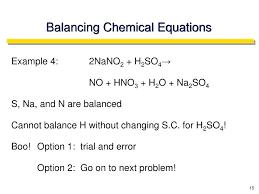 balancing chemical equations example sample problems formulaoles balancing chemical equations