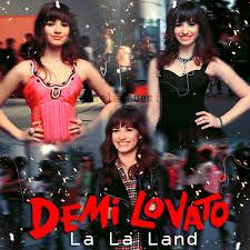 la la land demi lovato album cover. With La Land Demi Lovato Album Cover
