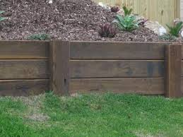 Small Picture how to build a retaining wall timber sleeper retaining walljpg