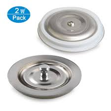 Kitchen Sink Drain Stopper With Soft Silicone Seal Not Rubber