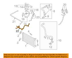 vw jetta cooling system diagram  vw volkswagen oem 99 05 jetta 2 0l l4 radiator water pipe on 2002 vw jetta