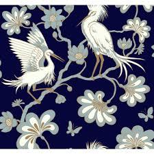 York Wallcoverings Egrets Paper ...