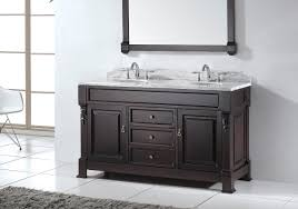 stylish modular wooden bathroom vanity. Awesome Modern Traditional White Italian Bathroom Vanity Dark Brown Wooden Sink Cabinet With Marble Top On Porcelain Tile Floor Stylish Modular E