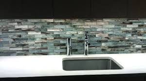 glass wall tile kitchen backsplash. glass mosaic backsplash. installed kitchen wall tile backsplash e