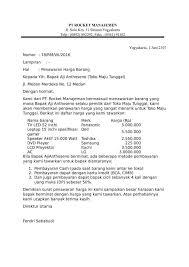 Surat permohonan izin toko obat download disini. Contoh Surat Permintaan Penawaran Page 4 Line 17qq Com