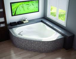corner bathtub sizes foter pertaining to bath tub remodel 17