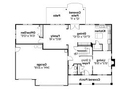 Bungalow House Plans   Cavanaugh     Associated Designs    Bungalow House Plan   Cavanaugh     st Floor Plan