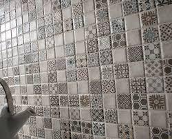 vinatge bathroom wall tile