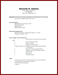 how to do a work resume how to do a resume for work districte15 info